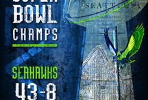 Seahawks / by Becky Martin