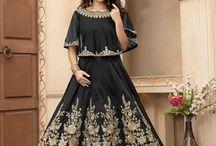 2645 Aanaya 28000 Tafeta Silk Latest Salwar Kameez
