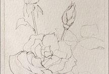 Akvarell virágok lépésről lépésre