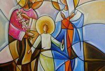 arte sacra estilizada