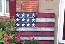Pallet Flags / Recycled Pallets and Flags! Enter the PalletPalooza Cash Competition PalletSWMI.com