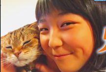猫と添い寝