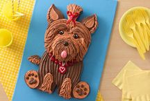 "Jono wants a ""puppy dog cake"""