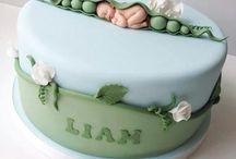 Torták újszülöttköszöntőre