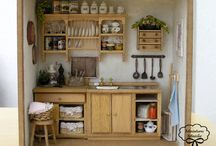 Miniature kitchens