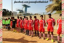 Goans Football Club Bangalore / Goans Football club Bangalore , One of the finest premier soccer club in Bangalore, Karnataka with a vision to bring the hidden talents of young guys having extraordinary skills in Soccer.  Mr Mahesh bala who owns this club has a versatile expertise of 25 years in soccer. His contribution has been awarded manier times though different segments of soccer.  #Goansfootballclub #Goansfootballclubbangalore #Goansfootballclubkarnataka