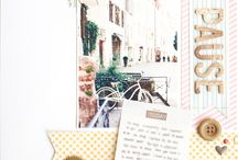 Scrapbooking Layouts DIN A4