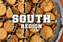 Score South Regional Recipes / Inspired by the big flavor and competition that comes from the NCAA® South Regionals, these tried and true game-day snack and recipe ideas go great with whichever team you're rooting for during this year's March Madness®! Brought to you by the Official Cookies & Crackers of the NCAA. NabiscoSnackBracket.com. / by Nabisco