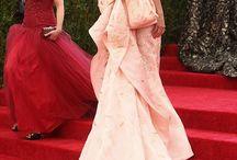 dresses / catwalk ball gowns