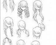 cabellos para animes