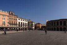 Verona.. / Here we are...