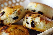 breads scones muffins