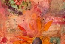 -* Collage *- / Zusammengestellte Bilder in tollen Farben