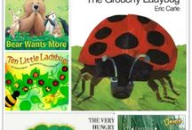 Spring: Pre-K Activities, books and crafts / Spring activities, books, and crafts ideas for Pre-K parents and classrooms.