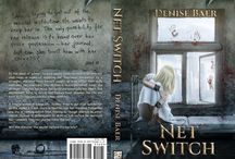 Net Switch - A dark, psychological suspense thriller novel / This novel contains strong language, violence and sexual content.   Mental institution. Internet Chat room. Chicago. Seattle. Stalker. Murderer. Journal.