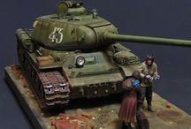 Pojazdy wojskowe - modele
