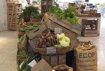 Organic retail design