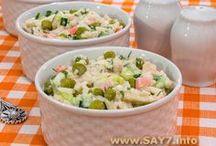 Рецепты салаты