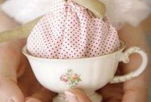 bambole in tazza