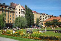 stockholm Sweden my town / här bor jag med min mamma och mina barn och deras familjer på lite olika ställen