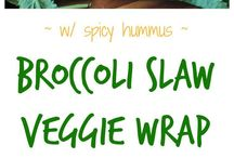 Recipes | Vegetable Wraps / Dairy-free, meatless, eggless, vegan, vegetarian, and plant-based recipes for wraps and rolls.