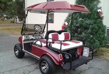 2001 refurbished club car golf cart