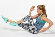 fitness / sundhed og fitness. Øvelser og motivation