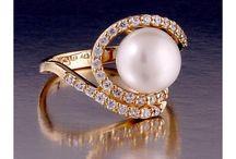 Rings Pearls / Made in Greece, Parthenon Greek Jewelry www.parthenon-greekjewelry.com