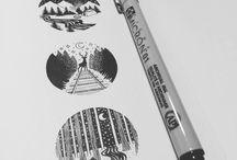Pen work