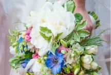 Natural style of bridal bouquets