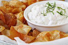 Healthy dips made at home