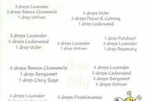 ESSENTIAL OIL DiFfUsInG BLENDS