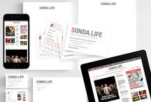 SONDA.LIFE / Progetto grafico per la modulistica interna