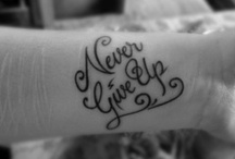 Tat ideas / by Tina Bigalk