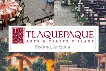 Wedding Venue / Set in the beautiful, authentically-styled Mexican village, surrounded by huge sycamore trees, tall vine-covered stucco walls and cobblestone pathways and courtyards, the Tlaquepaque Arts and Crafts Village has to be on the list of most beautiful places to get married. For the past 40 years Tlaquepaque Arts and Crafts Village has been regarded as a treasure within gorgeous Sedona, Arizona. https://www.tlaq.com/weddings/