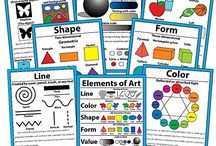 File Folder & Poster Activities & Classroom Signs / Homeschool file folder activities and  games. Poster activities. Signs and posters for the homeschool room | homeschooling