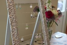 Craft fair display ideas / Ideas for displaying my jewellery at craft fairs - by Little Silver Hedgehog