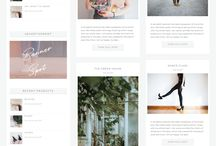 Divi Child Themes / Divi Child Themes I Feminine Divi Blog Websites I WordPress Themes