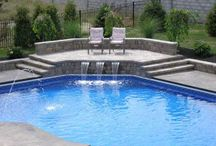 Water Falls / Swimming pool with marvelous water features