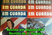 Revista Em Guarda / Revista que circulou na 2°Guerra. Vários exemplares à venda. www.sebodolanati.com