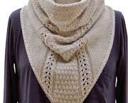 Knitting - Cowls and Scarves