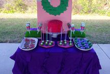 {Dessert Table} Butterfly Garden / I put together this dessert table for my niece's 1st birthday. By Painted and Sprinkled