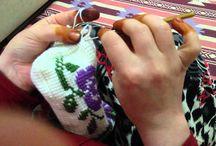 видео туниского вязания