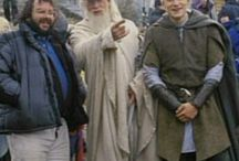 LOTR on the set