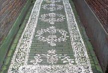 painted footpath