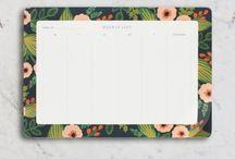 weekly deskpad
