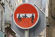 Street Art / Art made by various street artists.