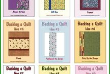 Backing quilts
