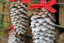 Vánoční šišky
