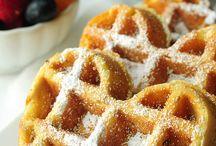 Pancakes and Waffles / by Katrina Angele